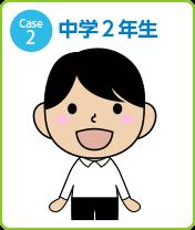 Case2 中学2年生男子